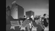 Private Snafu – 'Going Home' (1944) Stock Footage