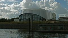 Das Wunder von Bern musical theatre Hamburg - stock footage