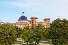 Stock Photo of museu de belles arts de valencia