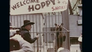 People visiting little Smokey at national zoo Stock Footage