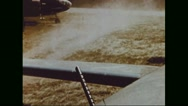 Boeing B-17 Flying Fortress ready to take off Stock Footage