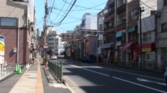 Japan Street in Nagasaki Stock Footage