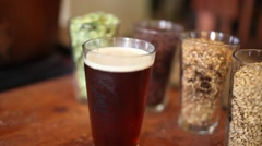 Homemade beer Stock Footage