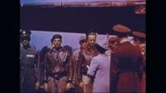 Queen Elizabeth II greeting crew of Memphis Belle Stock Footage