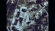Animated map of destroyed Germany Stock Footage