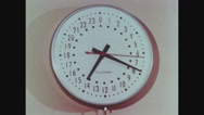 Clock depicting the time taken for the entire process Stock Footage