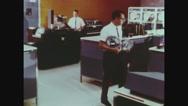 Employee working on tax returns Stock Footage