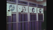 Automatic Data Processing Machines Stock Footage