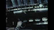 Engineer modifying avrocar Stock Footage
