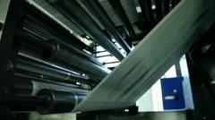 typography, printing newspapers, circulation 6 - stock footage