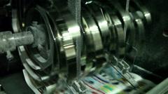 typography, printing newspapers, circulation 2 - stock footage