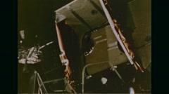 Close-up of Lunar module Eagle Free Stock Footage