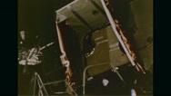 Close-up of Lunar module Eagle Stock Footage