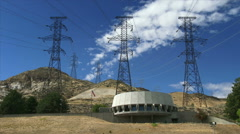 The Visitor Center at Grand Coulee Dam Stock Footage