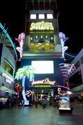 Slotzilla on the Famous Fremont Street in Las Vegas, Nevada Stock Photos