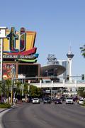 Stock Photo of Las Vegas Blvd
