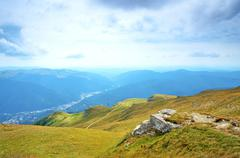 Transylvania, sinaia, romania Stock Photos