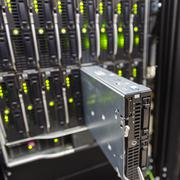 server chassis - stock photo