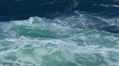 Ocean waves, slow motion Stock Footage