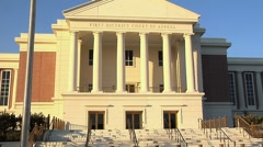 Florida First District Court Of Appeal building-10 Stock Footage