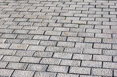 flloor tiles of paving stones - stock photo