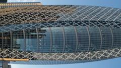 4k office skyscraper architecture tokyo skyline timelapse japan Stock Footage
