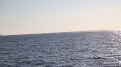 Boat Trip Along the Amalfi Coast - stock footage