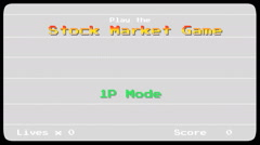 Stock Market Crash - Game HD Stock Footage