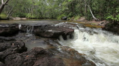 River Crossing in Australia HD Stock Footage