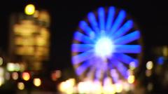 HD Ferris Wheel Ferriswheel Stock Footage