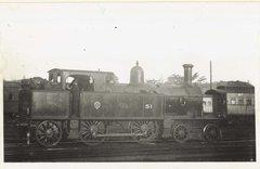 Class Z11 (M40) No.51 locomotive - free stock photo