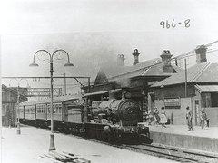 Railway Station - Blacktown, 1955 - free stock photo