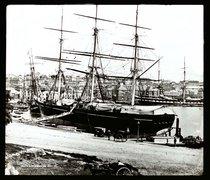 Circular Quay, 1871 - free stock photo