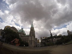 Stock Video Footage of Sao Paulo Brazil Time Lapse 4K