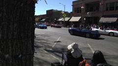 Corvette Parade - stock footage