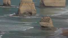 The 12 apostles Great Ocean Road HD Stock Footage