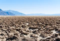 Death Valley NP: Devil's Golf Course Stock Photos