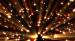 Red Moving Shine Stars on Black Background Loop 2 Stock Footage