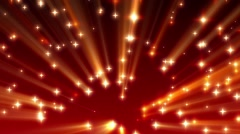 Red Moving Shine Stars on Ramp Background Loop 1 Stock Footage