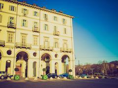 Stock Photo of Retro look Turin, Italy