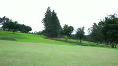 Golf Club - empty and quiet - Brazilian golf club Stock Footage