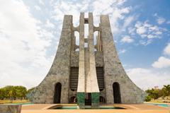 Kwame Nkrumah Burial Place - stock photo