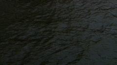 Dark water river Stock Footage
