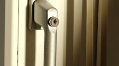 Closing Opening Door Close Up 6 - stock footage