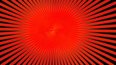 Orange asbtract sunburst Stock Footage