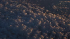 ZB '14 RX100 - Dusk Clouds Stock Footage