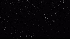 29.97fps-4K-SNOW-No Wind-Light Stock Footage