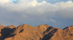 Mountains of Arava desert near Eilat Stock Footage