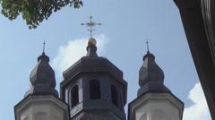 Ukraine, Lviv architecture - stock footage