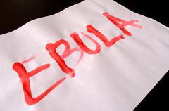 Word ebola text Kuvituskuvat
